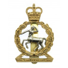 Royal Army Veterinary Corps (R.A.V.C.) Cap Badge - Queen's Crown