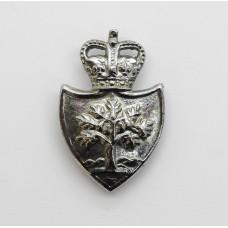 Worcestershire Constabulary Collar Badge - Queen's Crown