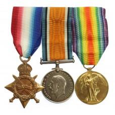 WW1 1914-15 Star Medal Trio - Dvr. J. Pollard, Royal Field Artill