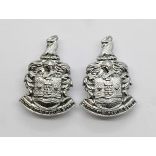 Pair of Gateshead Borough Police Collar Badges