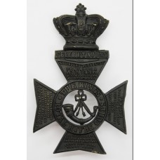 Victorian King's Royal Rifle Corps (K.R.R.C.) Helmet Plate