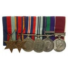 WW2, General Service Medal (Clasp - Malaya) and LS&GC Medal Group of Six - Capt. (Q.G.O.) Deolal Gurung, Gurkha Engineers