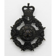 Royal Army Chaplain's Department Cap Badge - Queen's Crown