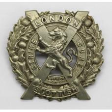 London Scottish Cap Badge