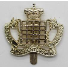Royal Gloucestershire Hussars Anodised (Staybrite) Cap Badge