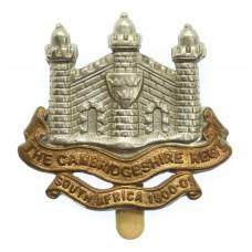 Cambridgeshire Regiment (Territorial) Cap Badge