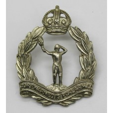 Royal Observer Corps Cap Badge - King's Crown