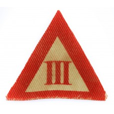3rd Infantry Brigade Group Printed Formation Sign