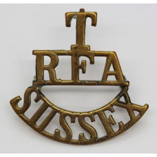 Royal Field Artillery Sussex Territorials (T/R.F.A./SUSSEX) Shoul