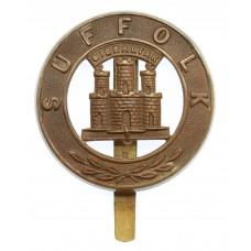 Suffolk Regiment Pagri Badge