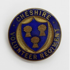 WW1 Cheshire Volunteer Regiment V.T.C. Enamelled Lapel Badge