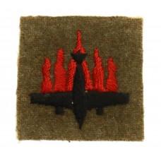 5th Anti-Aircraft Division Cloth Formation Sign