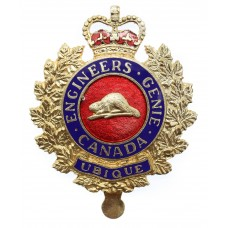 Canadian Forces Military Engineers Cap Badge