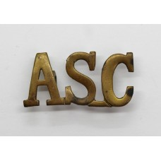 Army Service Corps (A.S.C.) Shoulder Title