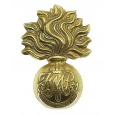Canadian Les Fusiliers Mont Royal Cap Badge - King's Crown