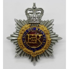 Royal Army Service Corps (R.A.S.C.) Officer's Dress Cap Badge - Q