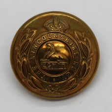 Lincolnshire Regiment Officer's Button - King's Crown (Large)