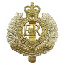 EIIR Royal Canadian Engineers Bi-metal Cap Badge