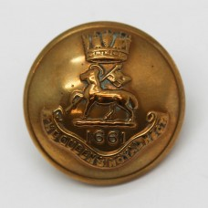 Queen's Royal (West Surrey) Regiment Officer's Button (Large)