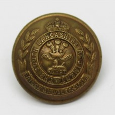 South Lancashire Regiment Officer's Button - King's Crown (Large)