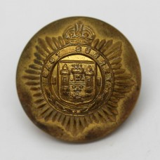 East Surrey Regiment Officer's Button - King's Crown (Large)