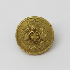 Royal Army Chaplain's Department Gilt Button - Queen's Crown (Small)