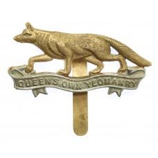 Queen's Own Yeomanry Cap Badge