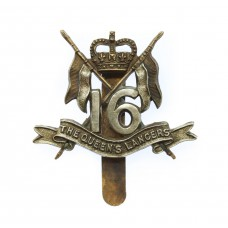 16th/5th Queen's Lancers Beret Badge - Queen's Crown