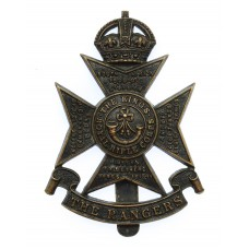12th London Regiment (The Rangers) Cap Badge - King's Crown
