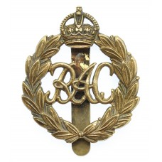 Royal Armoured Corps (R.A.C.) Cap Badge - King's Crown (1st Patte