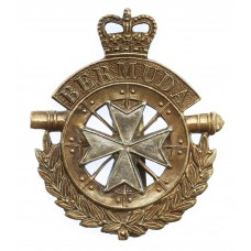 Bermuda Artillery Cap Badge - Queen's Crown