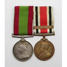 Afghanistan 1878-80 Medal & George V Special Constabulary Long Service Medal (Great War 1914-18) - Sgt. O. Kingdon, 6th Dragoon Guards