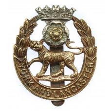 York & Lancaster Regiment Cap Badge