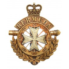 Bermuda Artillery Cap Badge - Queen's Crown