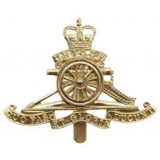 Royal Artillery Anodised (Staybrite) Cap Badge