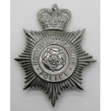 Northamptonshire Police Helmet Plate - Queen's Crown