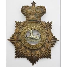 Victorian Gloucestershire Regiment Helmet Plate