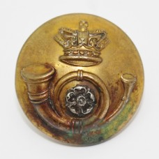 Victorian King's Own Yorkshire Light Infantry (K.O.Y.L.I.) Officer's Button (Large)