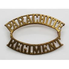 Parachute Regiment Brass Shoulder Title