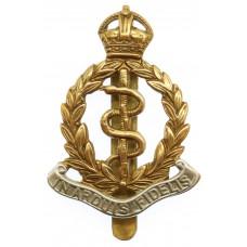 Royal Army Medical Corps (R.A.M.C.) Bi-Metal Cap Badge - King's C