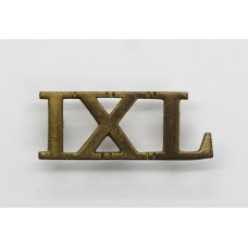 9th Lancers (IXL) Shoulder Title