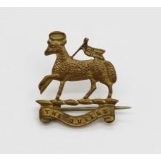 The Queen's (Royal West Surrey) Regiment Sweetheart Brooch