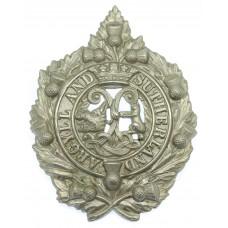 Argyll & Sutherland Highlanders Cap Badge