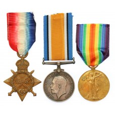 WW1 1914-15 Star Medal Trio - Pte. G. Smith, Yorkshire Regiment