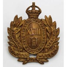 Scarce 18th Hussars (Princess of Wales's) Cap Badge (c.1904-05)