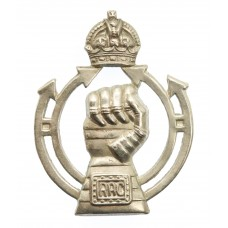 Royal Armoured Corps (R.A.C.) Cap Badge - King's Crown (2nd Patte