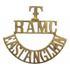 East Anglian Territorials, Royal Army Medical Corps (T/R.A.M.C./EAST ANGLIAN) Shoulder Title
