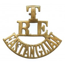 East Anglian Territorials, Royal Engineers (T/R.E./EAST ANGLIAN) Shoulder Title