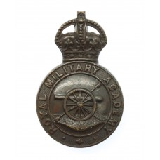 Royal Military Academy, Woolwich Officer Cadet Cap Badge - King's Crown