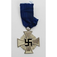 German WW2 Faithful Service Cross (25 Years)